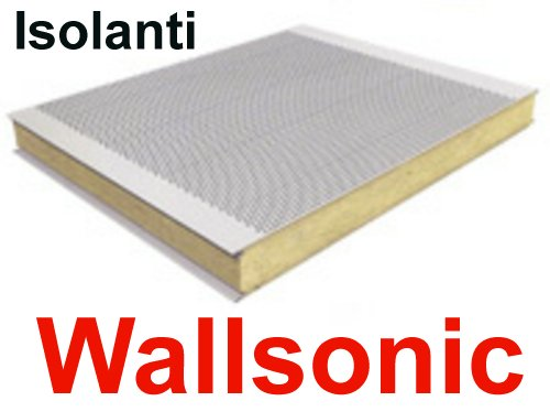 Pannelli fonoisolanti Wallsonic